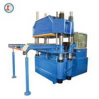 China 200 Ton Industrial Platen Hot Pressing Machine For Silicone Rubber Parts on sale
