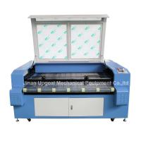 Cheap Car Block Set Co2 Laser Cutting Machine with Auto Feeding System/Double Heads for sale