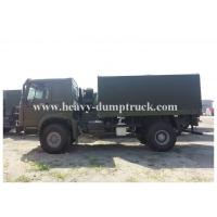 Best Howo 266 hp 4x2 Heavy Cargo truck 16 tons 15 CBM  one sleeper cab wholesale