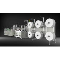 Best Low Noise N95 Mask Making Machine , 4 Ply Face Mask Manufacturing Machine wholesale