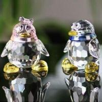 Best Crystal Cute Penguins for Gift to Girlfriend, Available in Various Shapes and Colors wholesale
