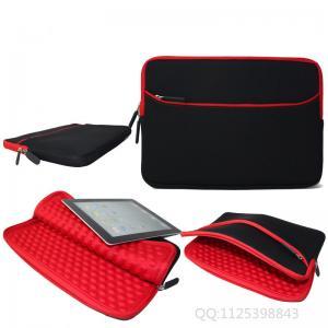 Best Business Red Shockproof Laptop Sleeve / Laptop Waterproof Messenger Bag wholesale