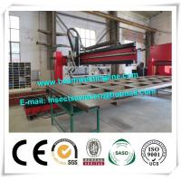 Quality Corrugated Box Beam Production Line Dump Truck Panel H Beam Welding Machine wholesale