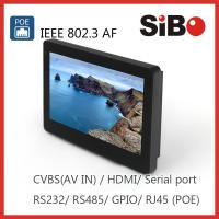 Best SIBO Q896 In Wall Android Tablet With RS232 RS485 wholesale