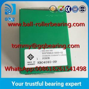 Best Rubber Seals type Open Design INA KBO4080 PP Linear Ball Bearing wholesale