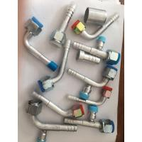 China #6 #8 #10 #12 R134a Straight Barbed O-Ring Female Fitting for AC Air Conditioning Reduced Barrier Hose on sale