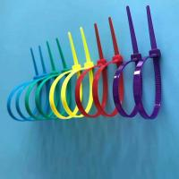 Best Free Sample Available Nylon Cable Ties Easy Use Self-locking Type In Different Colors wholesale