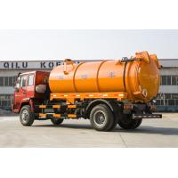 Best Sewage Waste Disposal Truck With High Pressure Washing And Suction Combination wholesale
