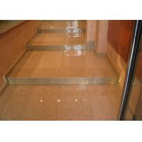 Best Rusty Yellow Polished Stone Entry Steps , G682 Sunset Granite Front Door Steps wholesale