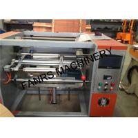 China Small Aluminium Foil Rewinder Machine For Kicthen / Household Foil Roll Rewinding on sale