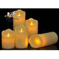 Cheap Plastic Material LED Candle Light Battery Operated For Wedding , Night Club for sale