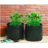 Buy cheap Garden Potato Garden Plant Accessories PE Fabric Reusable Vegetable , Round small Grow Bag from wholesalers