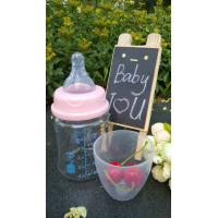Best 150ml With Teat Borosilicate Baby Glass Water Bottle For Milk And Water wholesale