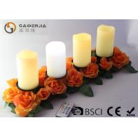 Best Battery Operated Advent Candles , Flameless Candles With Remote wholesale