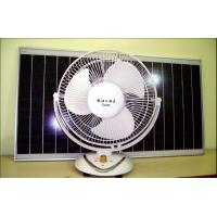 Best New Fashion Design Solar Fan with LED Light wholesale