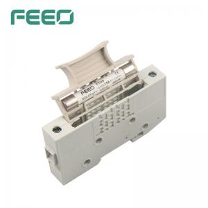 Best Electrical Appliance 1500V 1P DC Solar Fuse 10*65mm With Fuse Holder wholesale