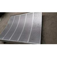 China Standard  8mm pitch stainless steel perforated sheets suppliers with  1219mm width on sale