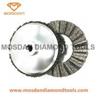 Buy cheap 4 Inch Aluminum Based Electroplated Diamond Flap Disc from wholesalers