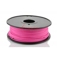Best 3mm 1.75mm 3D Printer ABS Filament for 3D Printer Pink , RoHs SGS wholesale