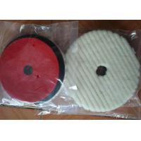 Best Lamb Sheep Skin Wool Car Polishing Pads With 1cm - 2.5 Cm Sponge Thickness wholesale