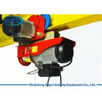 Best PA Electric Cable Hoist 110V , Electric Crane Hoist Wireless Remote Control wholesale