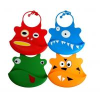 Best Silicone baby bibs With a built in crumb catcher and adjustable clasp wholesale