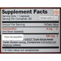 Best dietary supplement fucoxanthin (brown seaweed extract) CAS NO.3351-86-8 wholesale