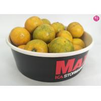 Best 100 CTNs 38oz Paper Paper Salad Bowls with Clear Lid Custom Printed Design wholesale