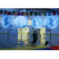 Best Large Inflatable Light Balloon Hot Air Welded Technology With Pillar Stand wholesale