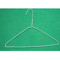 Best 18'' 14.G Mild Steel Metal Wire Hanger For Dry Cleaner Cloths Hanger wholesale