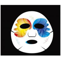 China Custom Animal Face Pack Paper Facial Mask 30% Viscose 70% Polyester on sale