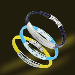 Best Stainless Steel Rubber Bracelet Bangle wholesale