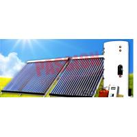 Best Heat Pipe Solar Water Heater Winter , Copper Coil Solar Water Heater For House wholesale