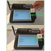 Quality Swipe Card Wireless POS Terminal , 7inch Color TFT LCD Touch Screen POS System wholesale