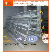 China High quality galvanised steel wire layer chicken cage for sale on sale