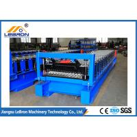 Best 825 Model Blue Color Corrugated Sheet Roll Forming Machine 5.5KW Full Automatic wholesale