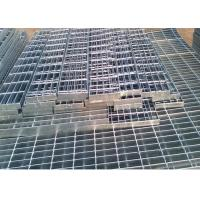 Cheap Self Color Mild Steel Grating , Fire Brigade Driveways Galvanised Grid Flooring for sale
