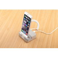 Best COMER Transparent Acrylic base for inserts Mobile Phone Display Stands with alarm and charger wholesale