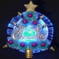 Best Christmas Optical Fiber Flashing Brooch, Several Attractive Models are Available wholesale