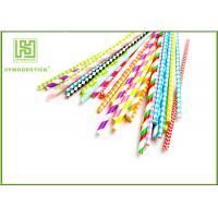 Best Unique Party Decorations Party Paper Straws Biodegradable 50pcs / Bag wholesale