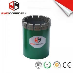 Best NW HW Diamond Casing Shoe Diamond Core Bit , Durable Impregnated Diamond Core Drill Bit wholesale