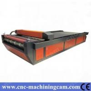 Best ZK-1640-100W Roller-Roller Textile Fabric Laser Cutting Machine wholesale