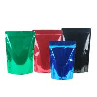 Best Green Tea / Instant Coffee Packaging Bags , Coffee Pouch Bags Blue Green Black wholesale