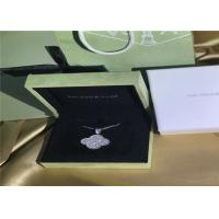 Best 18K White Gold Van Cleef & Arpels Magic Alhambra Necklace With Diamonds wholesale