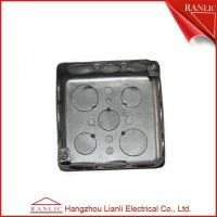 Cheap Electrical Square Conduit Box Cover UL Listed File Number E349123 With Knockout for sale