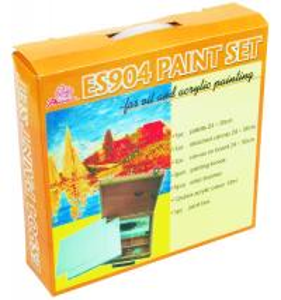 Best 5pcs Painting Brushes Acrylic Art Set Drawing Kits For Beginners 12pcs Acrylic Colour 12ml wholesale