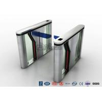 Cheap Pedestrian Intelligent Security Drop Arm Turnstile Access Control with LED for sale