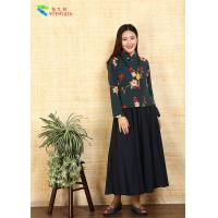 Best Vintage Embroidered Cheongsam Blouse Short Length For Autumn And Winter wholesale