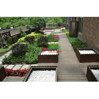 Best Recyclable 100% Wood Plastic Composite Lumber , Composite Timber Decking Corrosion Resistance wholesale