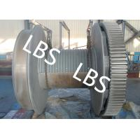 Best High Strength Steel Anchor Winch Drum / Rope Winch Drum RINA NK Approved wholesale